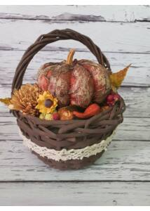 Kosaras őszi dísz