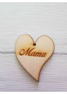 Mama Felirat Szív