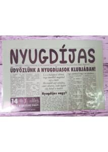 Nyugdíjas újság